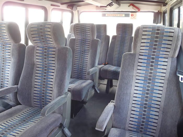 Coach seating in OKA