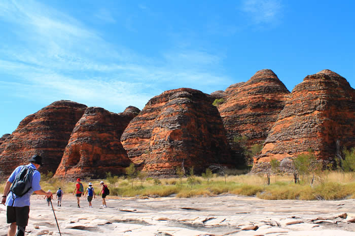 Purnululu (The Bungle Bungles),on our  Kimberley Tours
