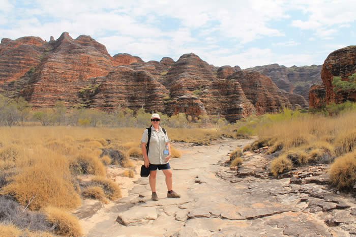 Walking into the Bungle Bungles