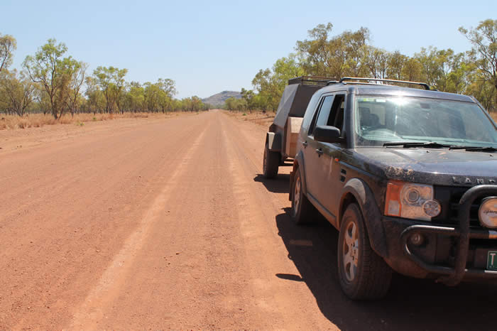 4WD on the Gibb River Road