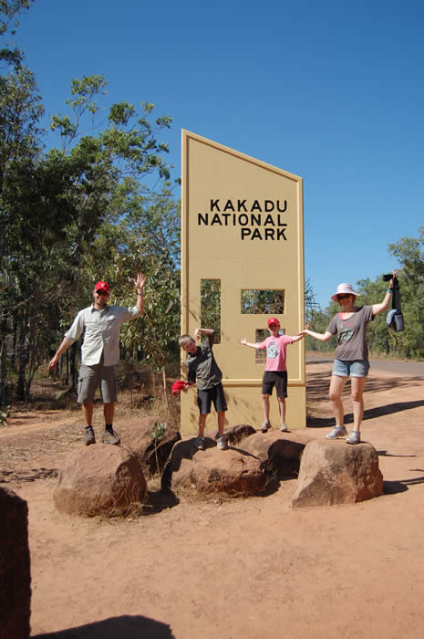 Kakadu tours for families