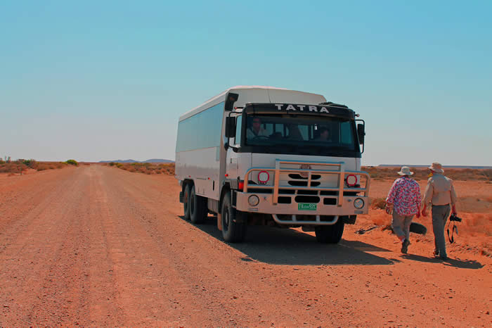 Travelling on the Birdsville Track