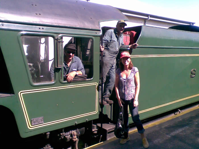 Steam Train from Goolwa to Victor Harbor